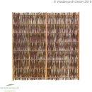 Weidenzaun Standard -LATO- mit seidlichem Rahmen, 180cm x...