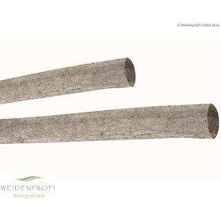 Holzpfosten Hasel rund, naturbelassen, Ø 7 - 9 cm x 200 cm ungespitzt