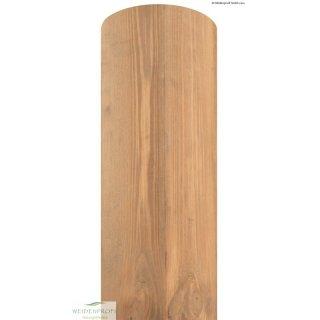 Holzpfosten Kiefer rund, gebeizt, ungespitzt Ø 8 x 200 cm