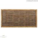 CAMBO MODUL ROBINIE 150 x 60 cm Flechtung waagrecht