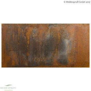 CAMBO MODUL CORTEN-STAHL ROST 90x60 cm