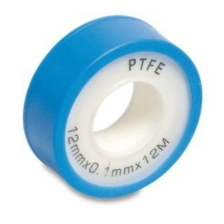 Teflonband Breite 12 mm, 10 m Rolle PTFE Gewindedichtungsband