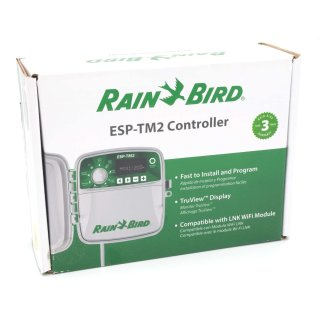 Rain Bird ESP-TM2 Steuergerät mit 8 Zonen WIFI/WLAN-fähig - Außenbereich
