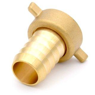 """Schlauchverschraubung Messing (versch. Größen) 1/2"""" x 13 mm"""