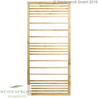 Zaunmodul Rankgitter Kiefer/Lärche, horizontal