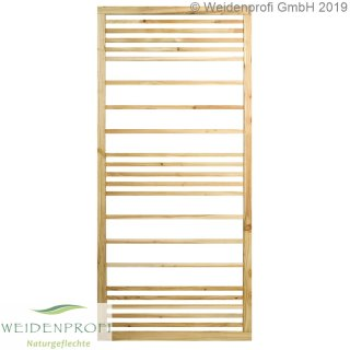 Zaunmodul Rankgitter, horizontal Lärche 90 x 180