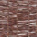 Weidenzaun BALDO Natur, waagerecht geflochten 180cm x 180cm
