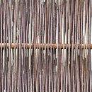 Robinienzaun LATO Kompakt, senkrecht geflochten, 120cm x 100cm
