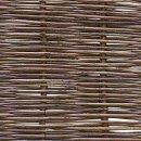 Robinienzaun BALDO Stabil, waagerecht geflochten, 180cm x 150cm