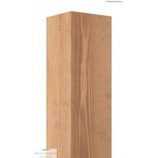 Holzpfosten Kiefer 4-kant, gebeizt 9cm x 9cm x 180cm
