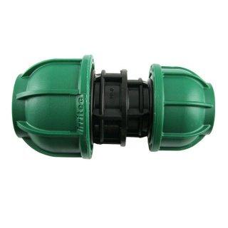 PE Kupplung reduziert - Brauchwasser 32 / 25 mm