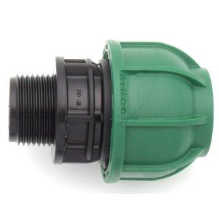 PE Kupplung mit Außengewinde - Brauchwasser