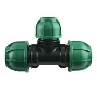 PE T-Stück 90° Reduziert - Brauchwasser 32 mm / 25 mm / 32 mm