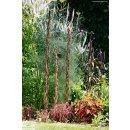Rankstab aus Haselholz mit Weide umflochten - 190 cm